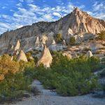 The Unique Shaped Tent Rocks