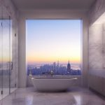 The Luxurious landmark in Penthouse Offers Magnificent Views of New York City 1,396 Feet above the Ground