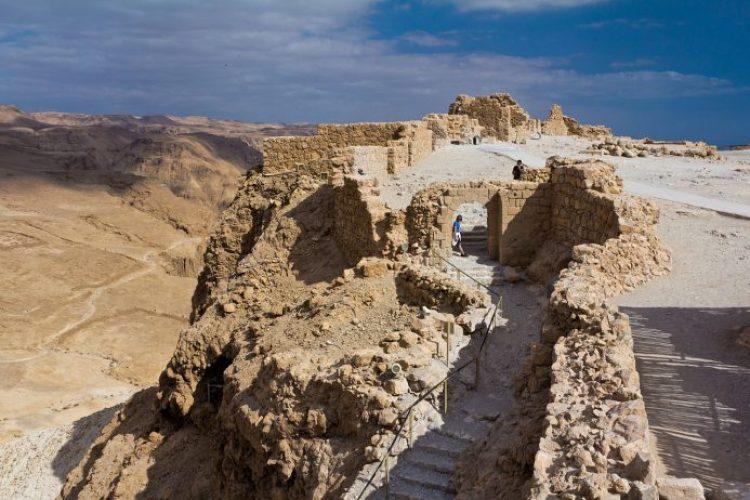 Masada's western Byzantine gate