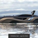 Megayacht That Looks Like the Batmobile