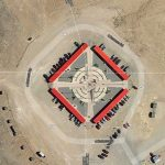 Four Corners Monument, Where Four Different States Meet at the Same Time in Arizona