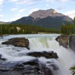 Athabasca Falls, Jasper National Park in Alberta Canada