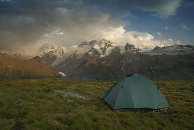 Monte Rosa, 2,600m Valais Alps, Switzerland