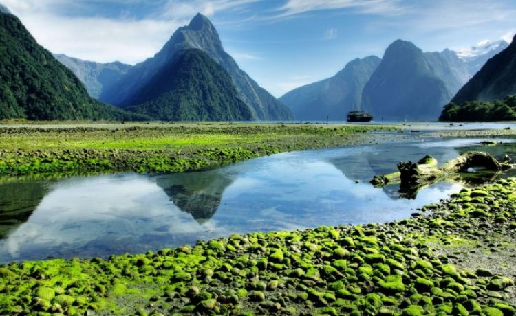 mitre-peak-in-Milford-Sound-new-zealand-at-lowtide-1600x981