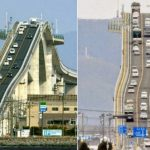 The Eshima Ohashi Bridge in Matsue Japan Looks Absolutely Frightening