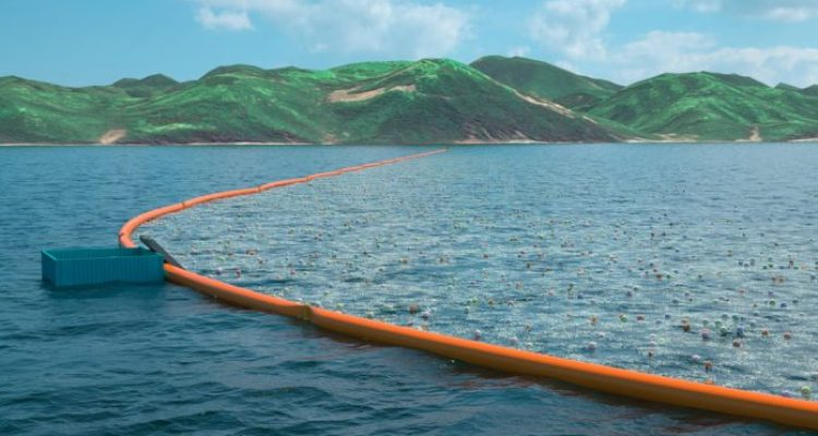 Slat's plan to rid the oceans of floating plastic waste