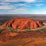 Kata Tjuta, A Group of Large Dome Formation in Central Australia