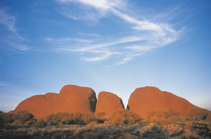 Kata Tjuta A Group Of Large Dome Formation In Central