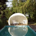 "Beautiful Transparent ""Garden Igloo"" Offers Sanctuary to Relish Your Garden Year-Round"