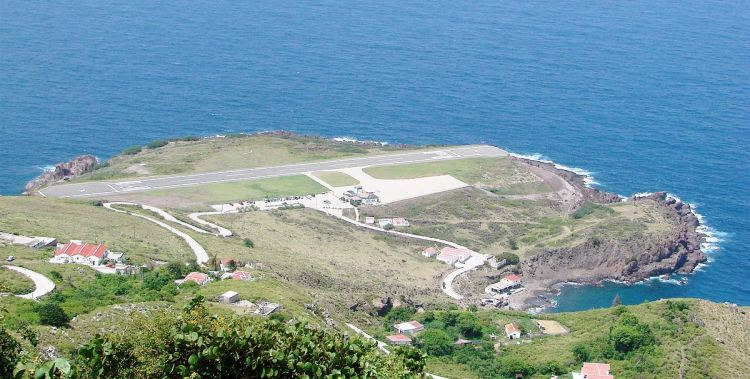 Juancho E. Yrausquin Airport is an airport on the Dutch Caribbean island of Saba.
