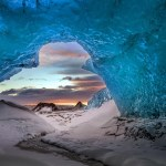 Iceland Staggering Blue Crystal Ice Cave