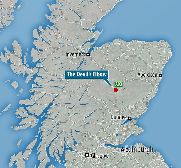 "A former stretch of road in Scotland that was so dangerous that it earned the nickname ""The Devil's Elbow"" is an attraction for adventurous holidaymakers."