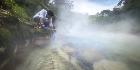 From many centuries Peruvian inhabitants are talking about mysterious boiling river in the Amazon that burns so hot.