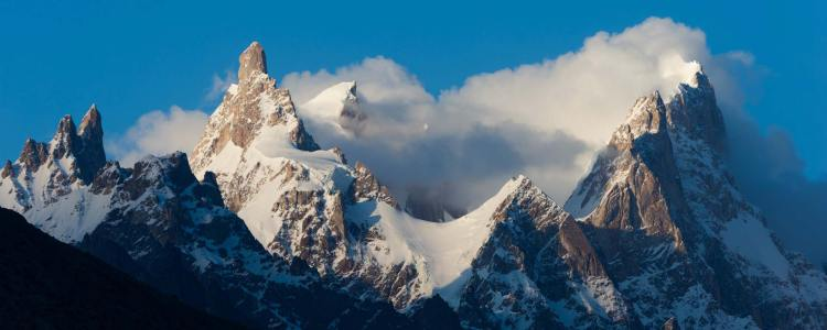 Moreover, Uli Biaho Tower in the Baltoro region of Pakistan new route climbed a long snow and ice gully to the foot of the left side of the upper tower,