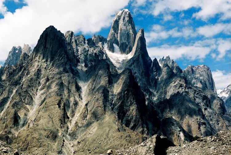 This is the place to love, because wonderful view to Great Trango with 2000 vertical metres from base to summit,