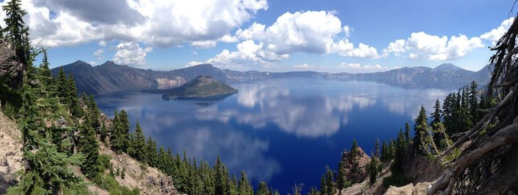 The Klamath natives used Crater Lake in vision quests, often involved climbing the caldera walls and other risky tasks.
