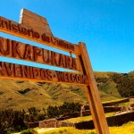 Puka Pukara; The Red Fort of Inca Ruins in Peru