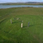 The Standing Sotnes of Stenness, Scotland