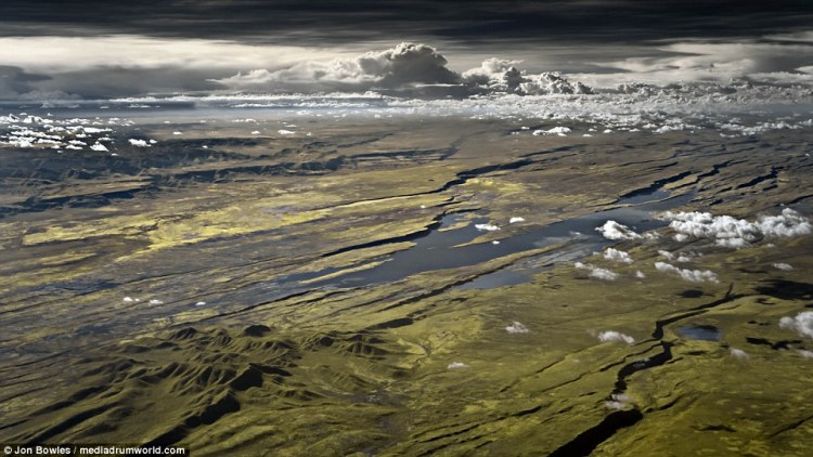 The British pilot's amazing photography shows the world in a light impossible for the human eye to detect the Great Rift Valley