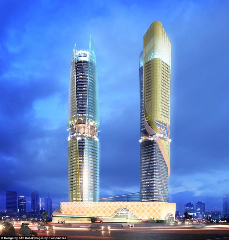 Designed by ZAS Architects, the 450-room hotel will be operated by Hilton Worldwide under its Curio brand