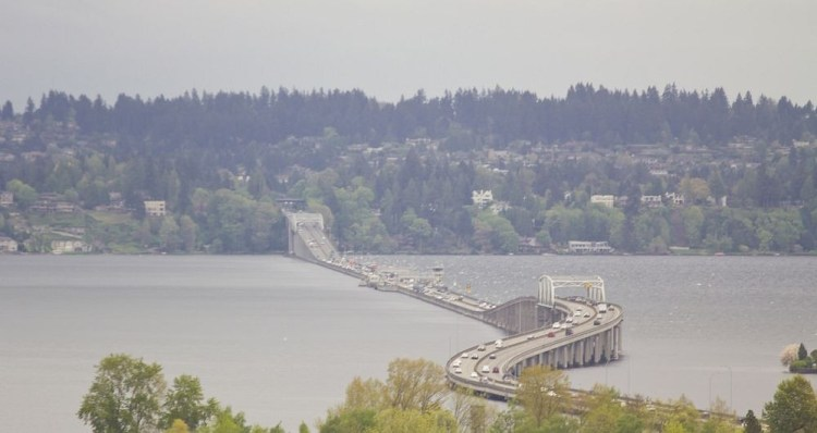 Evergreen Point Floating Bridge. Photo credit Atomic Taco at Flickr