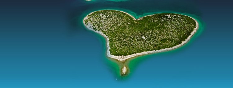 There is a tiny island in Croatia which is causing a sensation between all lovebirds on the planet earth. It is small and uninhabited island doesn't have any natural attractions.