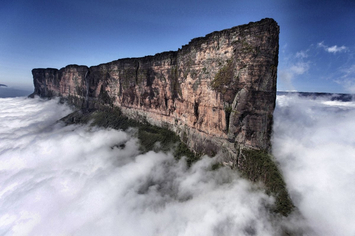 Mount Roraima, Oldest Geological Formations on Earth