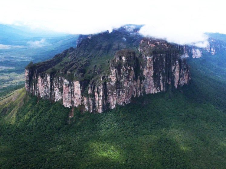 Mount Roraima Top Park is considered some of the oldest geological formations on Earth, as much as two billion years ago in the Precambrian.