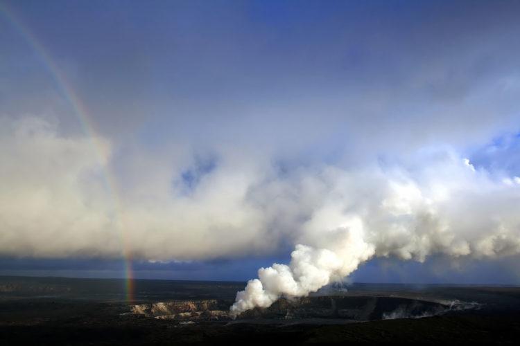 A sulfur dioxide plume after an explosive 2008 eruption