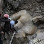 Giant 3,000-year-old statue of Pharaoh Ramses II found in Cairo