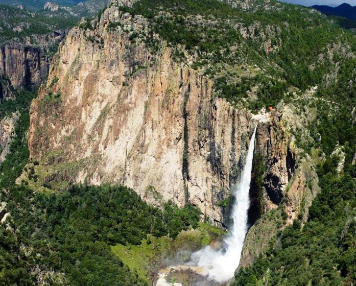 It is also the second tallest free-leaping waterfall in the world. The waterfall usually cited as the 11th highest waterfall in the world.