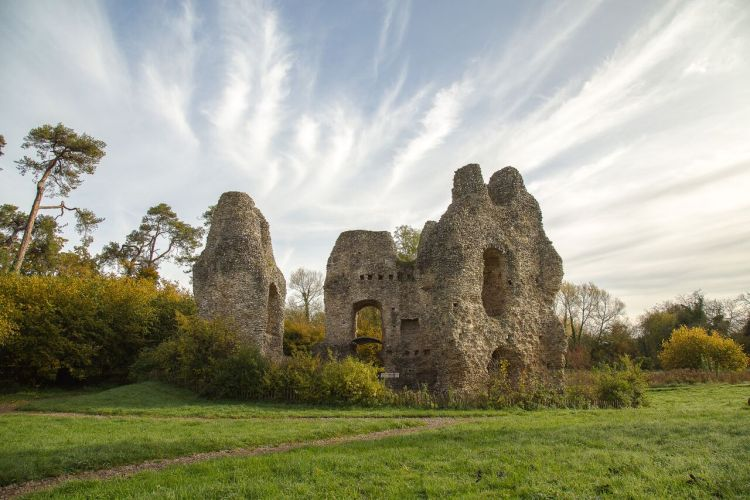 It is also known as King John's Castle, one of only three fortresses built by King John during his reign.