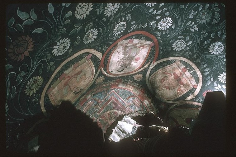 No documentation pertaining to this mysterious gompa or monastery has been found, but the wall paintings appear to be having been made in the 14th century or even earlier.