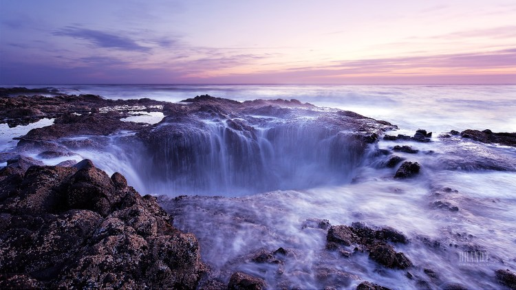 "Thor's Well is also known as the ""drainpipe of the Pacific"" and some call it ""Gaping Hole""."