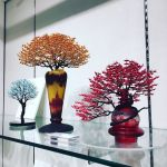 Japanese's Artists Used 1000s Of Miniature Origami Cranes Turned into Incredible Bonsai Trees