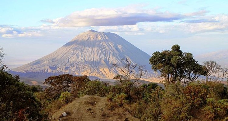 Ol Doinyo Lengai, is located in the north of Tanzania nearby Lake Natron and is part of the volcanic system of the Great Rift Valley in East Africa.