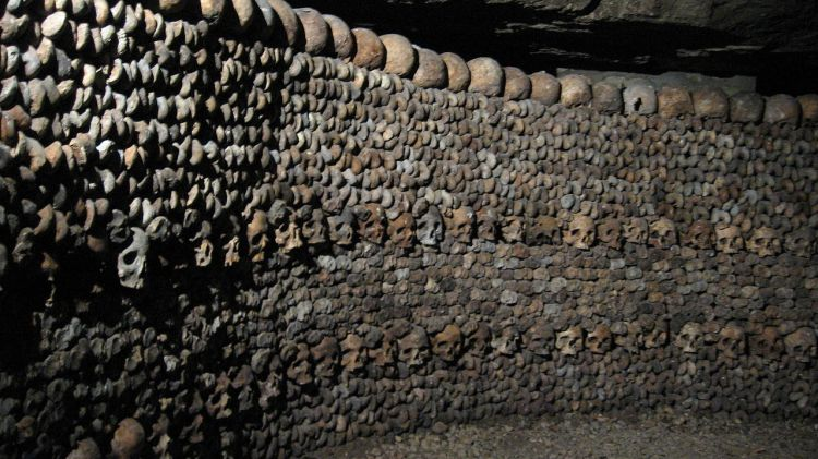 "The Catacombs,"" has become one of the top tourist attractions in Paris on a small scale from the early 19th century,"