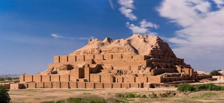 It is one of the few existent ziggurats outside of Mesopotamia. The Elamite name of this structure is Ziggurat to build on a raised area.