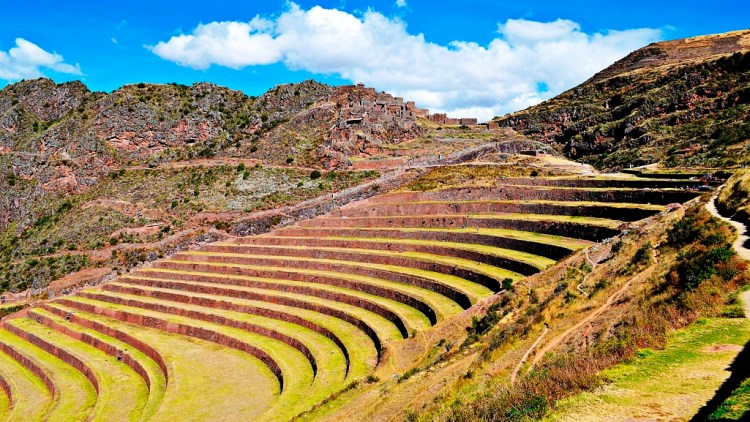 The Sacred Valley was undoubtedly a key area of settlement to the Incas. Its agree-able climate and fertile plains make a rare and fruitful combination for the high Andes.