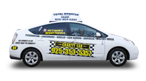 example of charity cab's taxi in livermore car