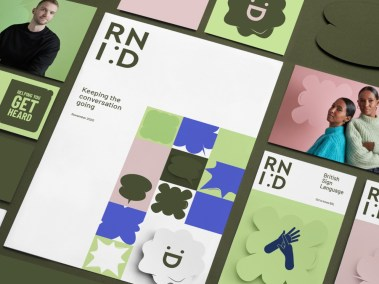 RNID's brand development journey