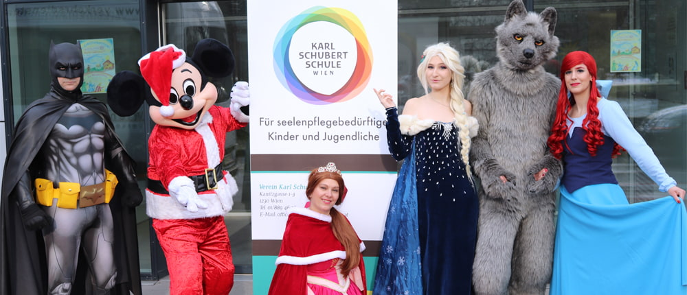 Charity für die Karl-Schubert-Schule