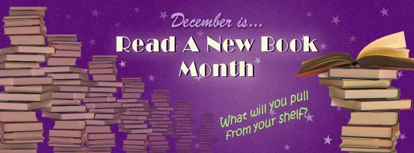 December is Read a New Book Month