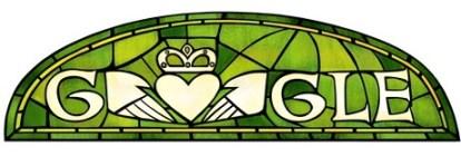 St. Patrick's Day Google Doodle 2014