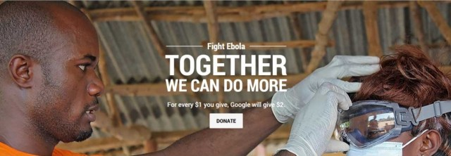 Google Ebola Campaign