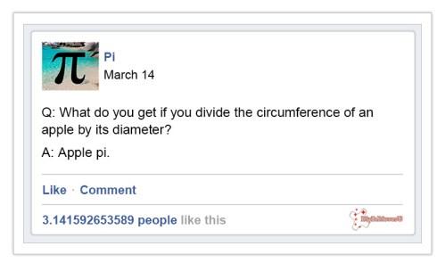 Pi Day Joke