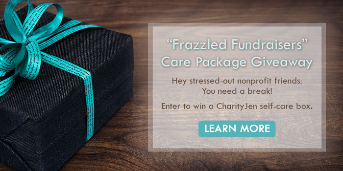 Frazzled Fundraisers Giveaway
