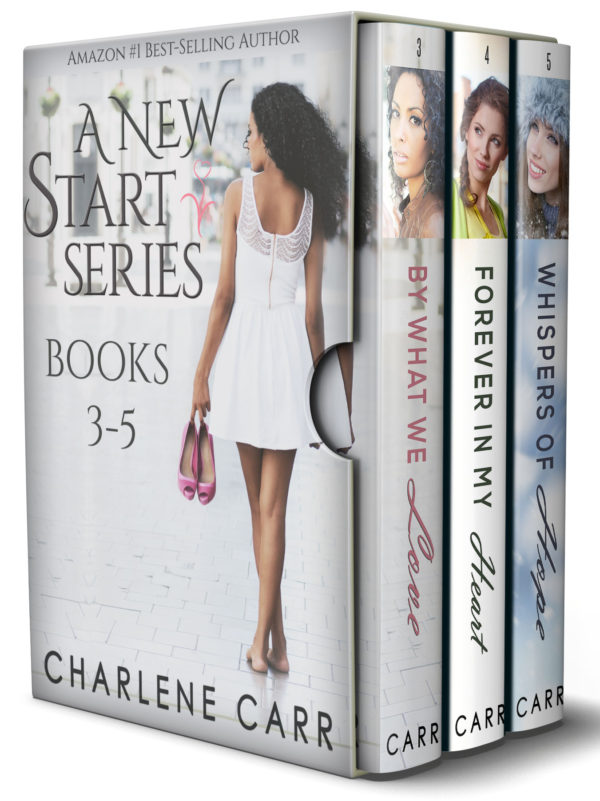 A New Start Boxed Set by Charlene Carr