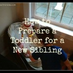 Preparing a Toddler for a New Sibling