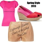 Spring 2013 Trends: Lightweight Leather
